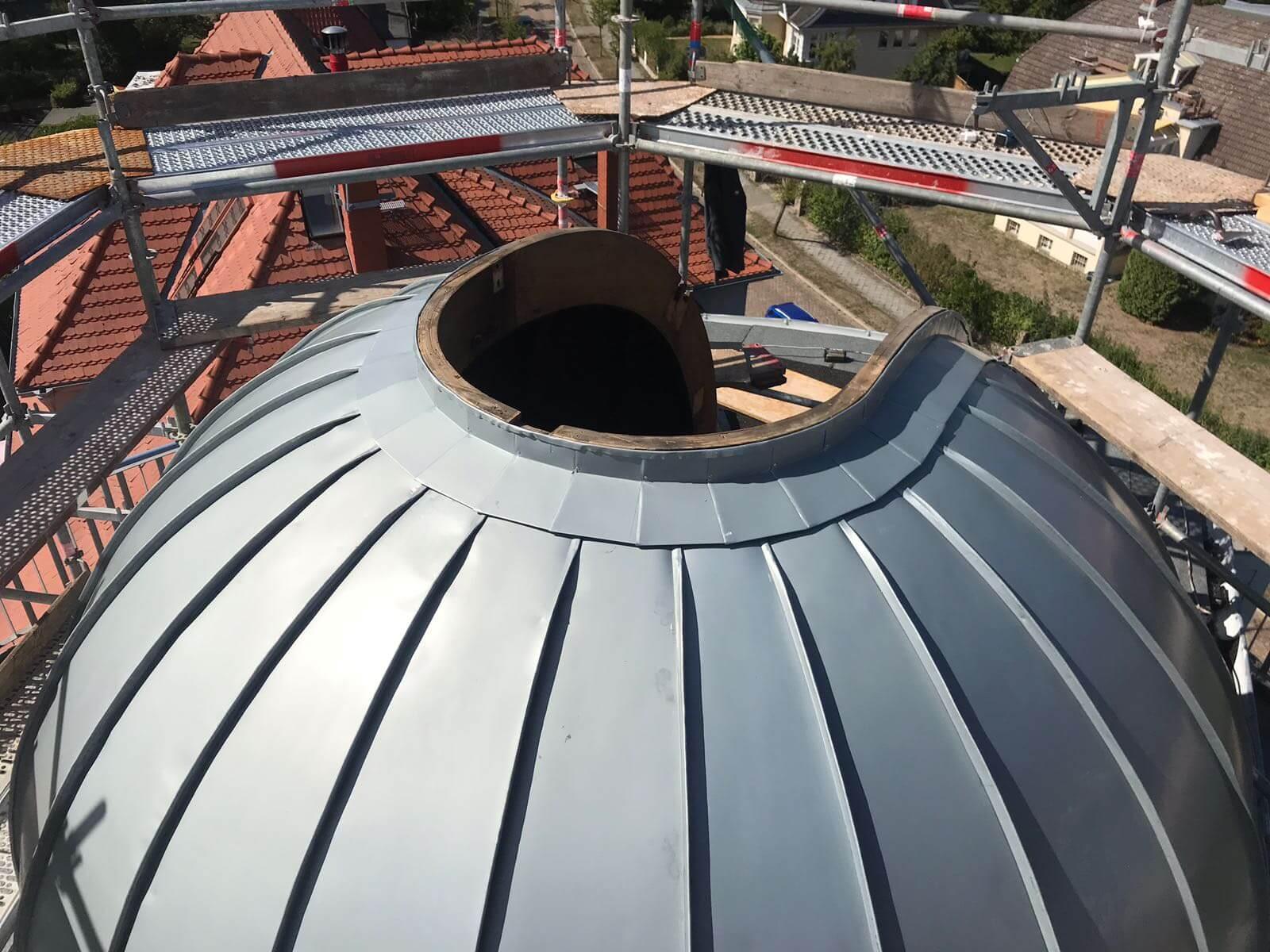 BV Dachkuppelsanierung Sternwarte Schwerin2